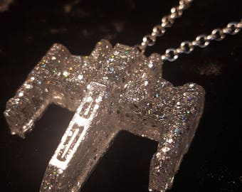 Star Wars X-Wing Resin Necklace Pendant