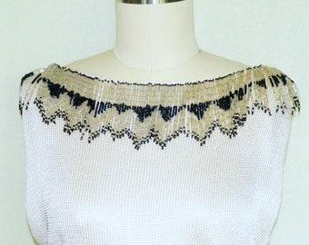 Jeweled Vintage Dress