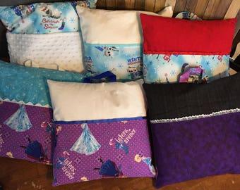 Handmade Frozen Travel/Reading Pillows