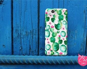 Google Pixel 2 XL Clear cactus case Pixel 2 case Google Pixel 2 case cell phone case Google cases cactus transparent case for Google Pixel 2