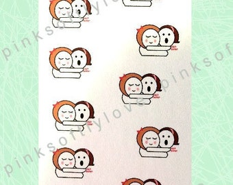 VISIT SISTER Planner Stickers