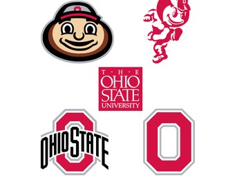 Ohio State Buckeyes svg, American football svg, svg files for cricut, svg for silhouette, vector cut files, svg png eps dxf