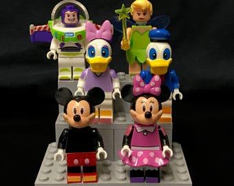 Disney Custom Minifigures Set