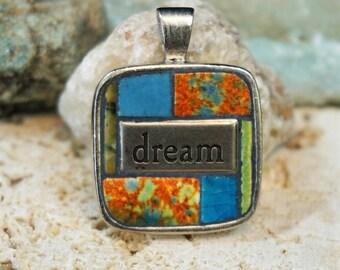 Dream Vintage Denwar tile Pendent