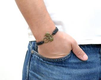 Game of thrones Vikings bracelet Men bracelet Dragon of game thrones Brother gift bracelet Cord bracelet Rope bracelet Game of thrones gift