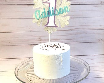 Winter Onderland Smash Cake Topper