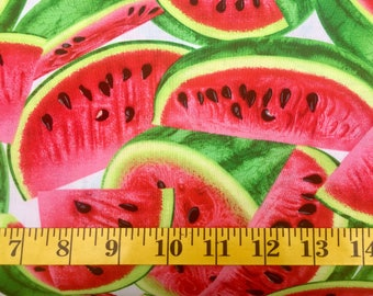 Timeless Treasures Watermelon C1137 Cotton Fabric By the Yard