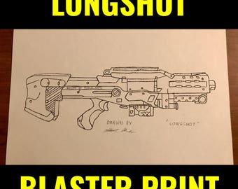 "Nerf Longshot Print 8.5""x11"""