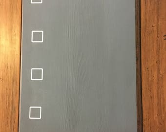To Do List (Chalk Paint Sign)