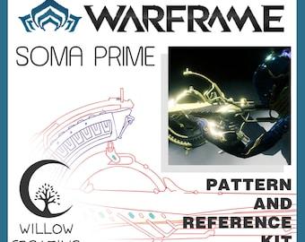 Soma Prime rifle reference kit - Warframe