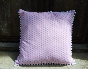 Saki cushion pink 40 x 40