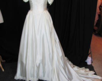 Vintage Wedding Dresses Etsy