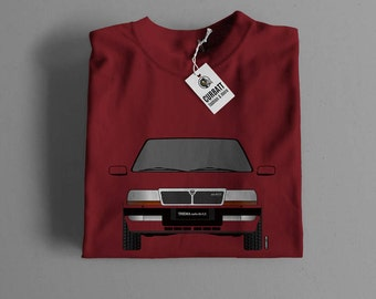 T-shirt Lancia Thema Turbo 16v LX | Gent, Lady and Kids | all the sizes | worldwide shipments | Car Auto Voiture