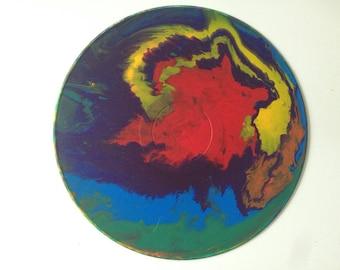 Acrylic Fluid Painting: Pride