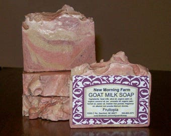 New Morning Farm Goat Milk Soap Fruitopia
