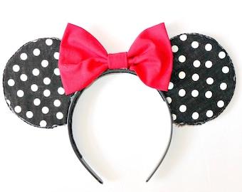 Disney Minnie Mouse Polka Dot Mickey Ears