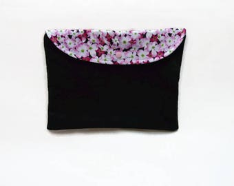 Large soft cover / / with the Japan cherry blossoms / / storage shelf - large case / / pouch XXL
