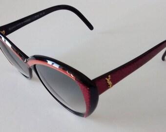 Vintage YSL 8702 PO 83 Sunglasses (Yves St Laurent)