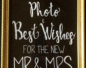 Custom Wedding Guestbook Sign