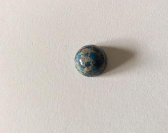 1 round dome cabochon Jasper 12mm