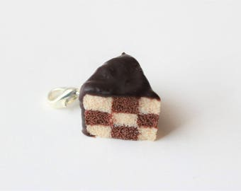 Charm - Hand checkered the chocolate cake