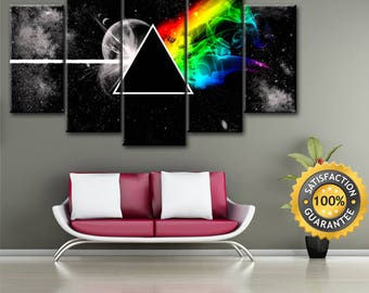 Pink Floyd Wall Art pink floyd prints | etsy