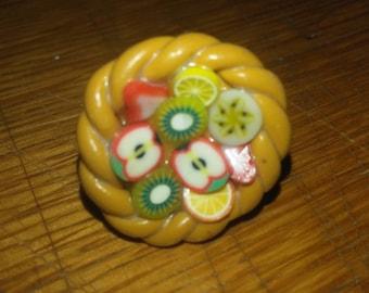 Multi fruit tart ring