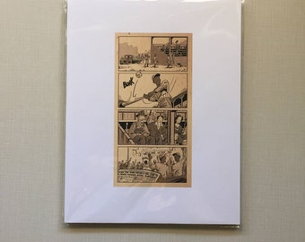 The 1934 Chatham Coloured All-Stars: A Story in 4 Panels unmatted. By Scott Chantler.