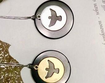 Shungite pendant angelbird,emf protection,Shungite elite,reiki pendant,Healing crystal,shungite jewelry, Magic stone,Shungite necklace,elite