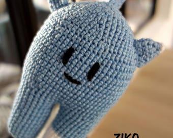 Crochet Hedgehog Ziko blanket