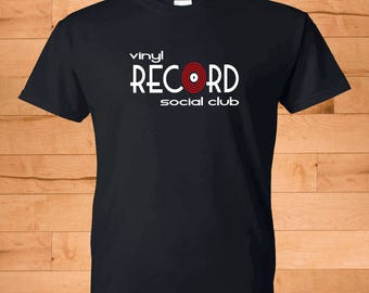 Vinyl Record Social Club T-Shirt