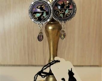 Dawn and dusk (Night), Dragon earrings
