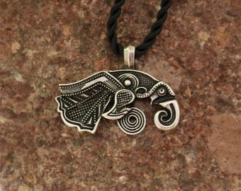 Raven of Odin Pendant Necklace