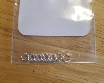 Silver Plated 6mm Jump Ring