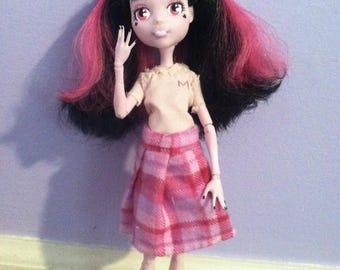 OOAK Draculaura doll repaint