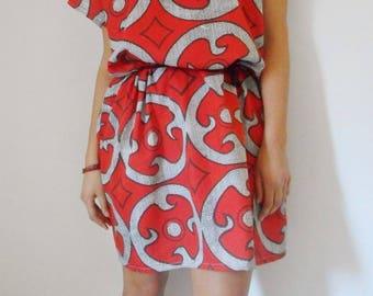 African cotton dress