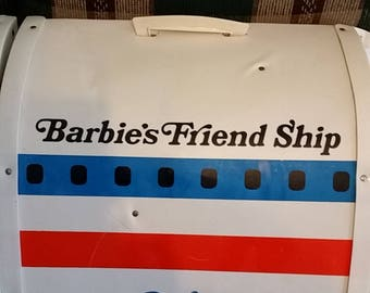BARBIE'S FRIEND SHIP United Airlines Airplane Vintage 1970 Mattel Toy