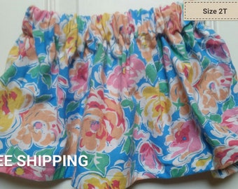 Bright floral size 2T
