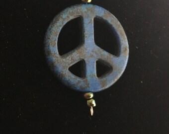 Blue Peace Pendant