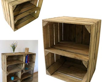 holz regal etsy. Black Bedroom Furniture Sets. Home Design Ideas