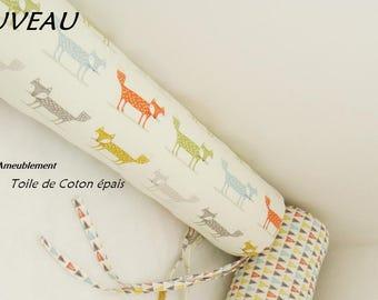Thick cotton, size 14, sausages cabin bed or mattress to floor Montessori way. Diameter 14 cm