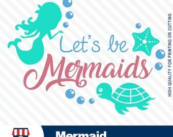 The Little Mermaid, mermaid Disney, mermaid SVG, high quality, princess Ariel, little mermaid, ocean SVG, silhouette files, #001-svg