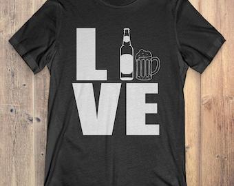 Beer T-Shirt Gift: Love Beer
