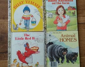 Vintage a First Little Golden Books | Mini-Me