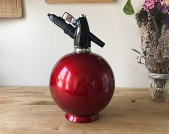 Vintage Sparklets/Soda Siphon Round Seltzer Bottle