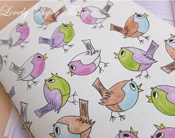 "Notebook ""Flock of birds"""