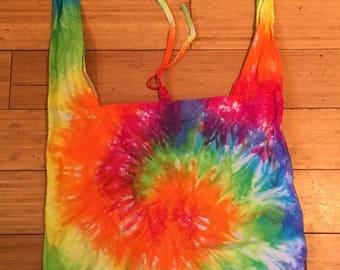 Handmade Tie Dye Over-The-Shoulder Bag