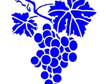 535 Grape stencil