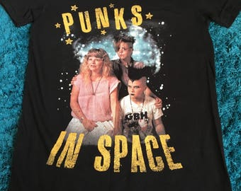 Punks In Space small t-shirt - American Apparel