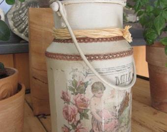 Revamped old milk jug
